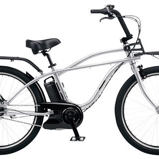 Panasonic 電動アシスト自転車 BP02 シルバー 26インチ