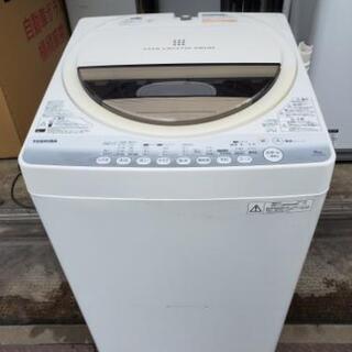 TOSHIBA 東芝 全自動電気洗濯機 型番AW-60GM(W)...