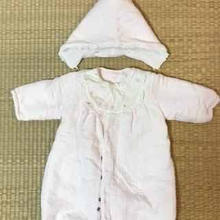 ジャンプスーツ 50〜70cm ピンク