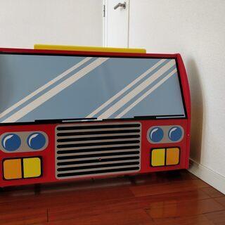 男の子用の消防車ベッド(1歳半ー4・5歳)