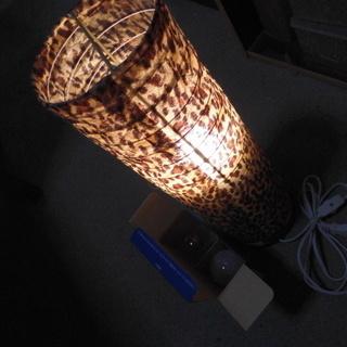 室内の「あんどん」電球2個付き(作動確認済商品)