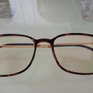 ボストン タイプの老眼鏡 ブルーライトカット 色赤 度数+2.5
