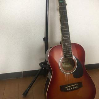アコーステック ギターほぼ新品 付属品セット