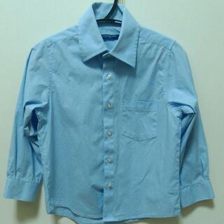 男児フォーマルシャツ★ブルー★110サイズ