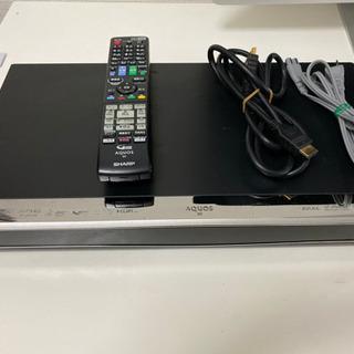 シャープ BD-W1600 2番組同時録画 1Tバイト
