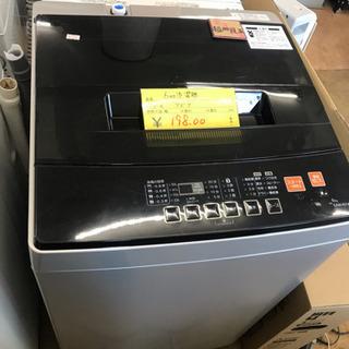 【特価】19年製 6キロ全自動洗濯機 美中古 リサイクルショップ...