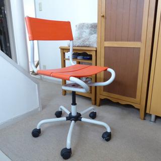 オフィスチェア 赤 シンプル  デザイン