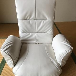 回転式 座椅子 14段階リクライニング