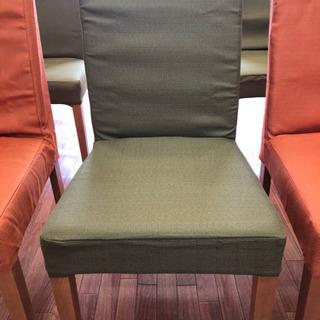 ニトリにて、先月 椅子 10脚 ¥80.000以上で買ったほぼ新品椅子