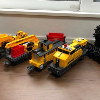 電車のおもちゃ キャタピラー 電車線路セット美品‼️