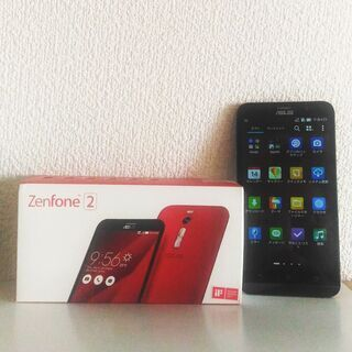 ほぼ新品 シムフリー  ZenFone2 4GB/32GB