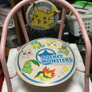 ポケモンの椅子