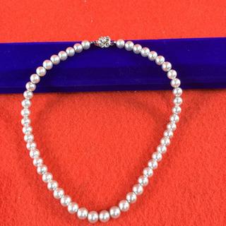 真珠 ネックレス 40cm