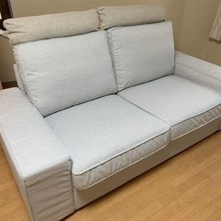 イケア シービック 2人用ソファ IKEA  KIVIC
