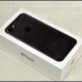 新品 SIMロック解除済 iPhone7 32GB ブラック 〇...