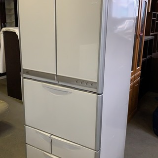 HITACHI 6ドア冷蔵庫 416L 2004年