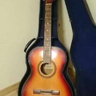 古いアコースティックギター(Kawai)雰囲気あります
