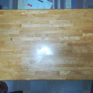 センターテーブル ローテーブル 120cm×75cm ナチュラル