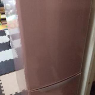 【終了】2ドア 165L ノンフロン冷凍冷蔵庫