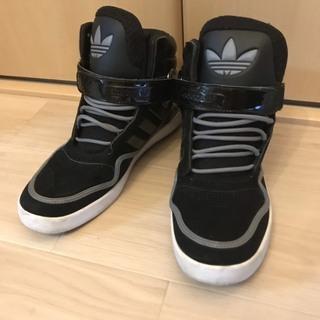 【adidas】アディダス ハイカットスニーカー 黒