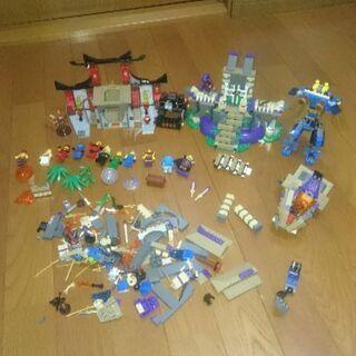 レゴニンジャゴーアナコン神殿とレゴの色々