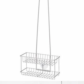 未使用品 無印良品 ステンレスシャワーラック 吊り下げタイプ