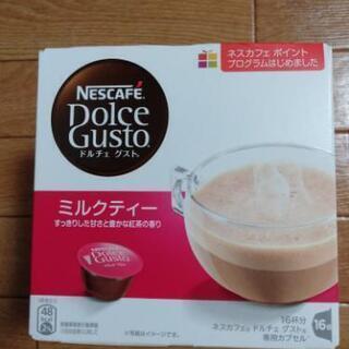 ネスカフェ ドルチェ グスト ミルクティー 1箱 (16杯分)、...