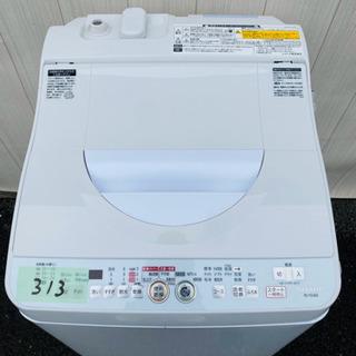 313番 SHARP✨電気洗濯乾燥機⚡️ES-TG60L-P‼️