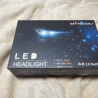Mindsky 正規品 H4 Led ヘッドライト Hi/Lo ...