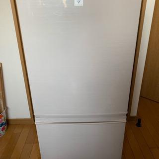 美品 SHARP 2ドア冷蔵庫 137ℓ プラズマクラスター搭載...