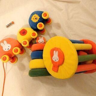 3点セット miffy ミッフィー 布のおもちゃ 知育 セット