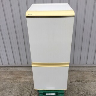 【SHARP】 シャープ ノンフロン冷凍冷蔵庫 SJ-S14K-...