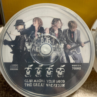 GLAY 2009年ツアーグッズ CD-R