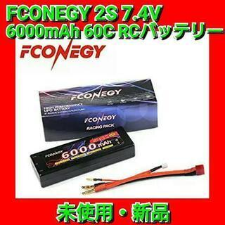 FCONEGY 2S 7.4V 6000mAh 60C RCバッ...
