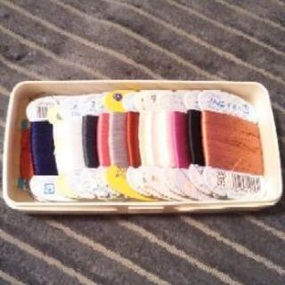 手縫い糸 しつけ糸 絹縫糸 もめんぬい糸