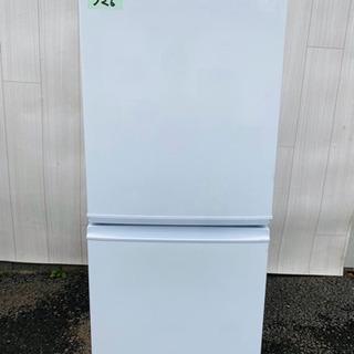 326番 SHARP✨ノンフロン冷凍冷蔵庫❄️SJ-14Y-W‼️