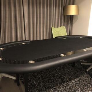 Poker table ポーカーテーブル 本格的 チップ大量 カ...