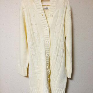 whiteセーター上着 M〜Lサイズ