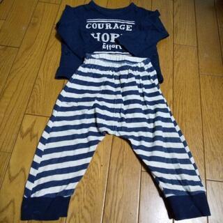 80cm 長袖パジャマ 汚れあり