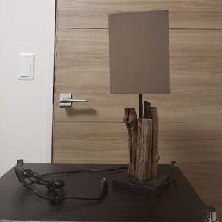 【新品同様】ベッドサイドランプ フロアランプ