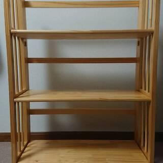 折り畳み式本棚売ります