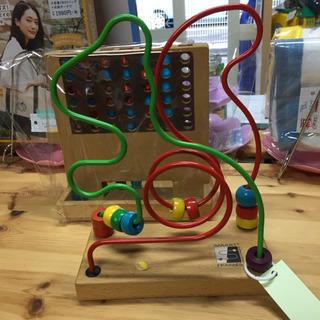 🍀知育玩具/木製ワイヤービーズ