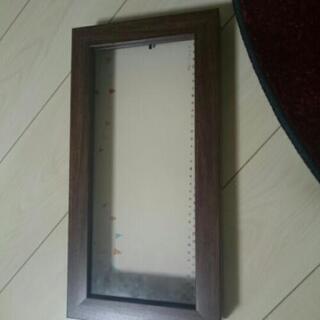 ガラス張り木枠のケース
