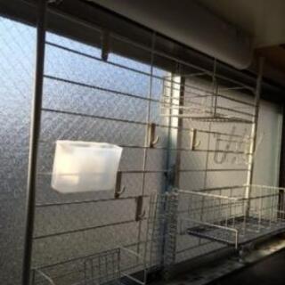 キッチン 収納 突っ張り棒