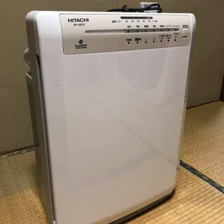 値下げ HITACHI EP-GD12 加湿空気清浄機