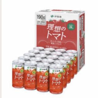 伊藤園トマトジュース 缶 190g×20缶 500円