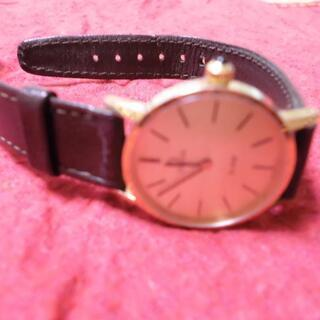 【正規品】OMEGA レディース腕時計デビル 手巻きゴールド稼動品
