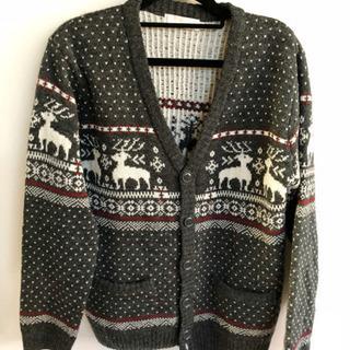 Vネック☆厚手セーター