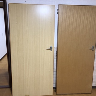 ドア 2枚