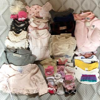 子供服 秋冬物まとめ売り 女の子 サイズ主に70〜80